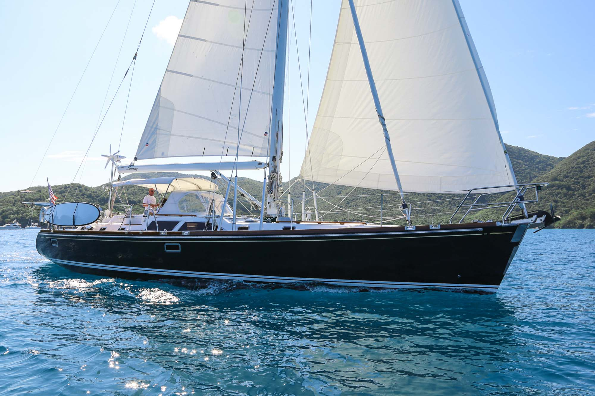 2002 Hylas 54 For Sale Serenity